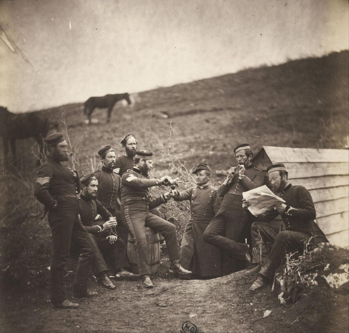 "Roger Fenton ""L'Entente cordiale"", 1855 Krimmi sõjast"