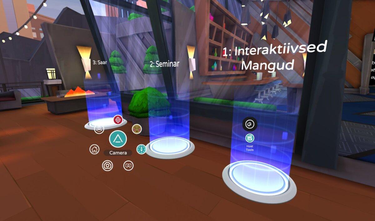 """Tulemuste mõõtmine 3D keskkonnas, """"Digital Youth – infoühiskonna noored"""" õppemoodul, koostöös MARU VR Productions OÜ-ga"""