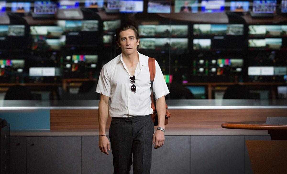 "Jake Gyllenhaal filmis ""Nightcrawler"""