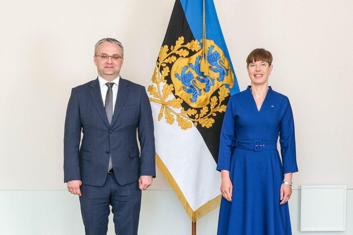 Janar Holm ja Kersti Kaljulaid