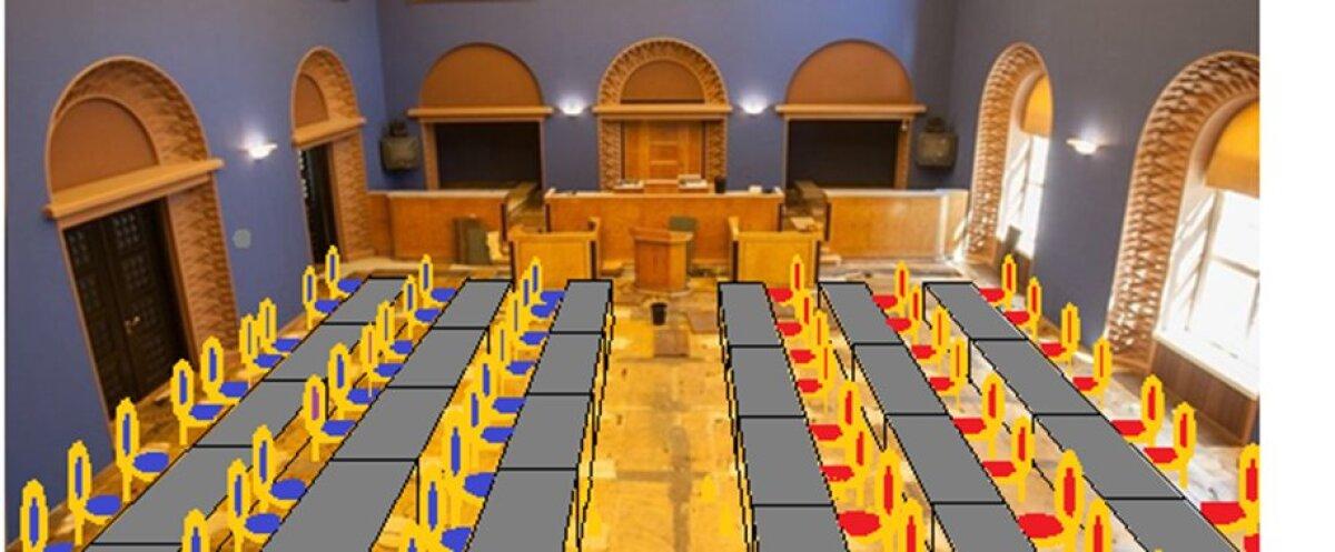 Riigikogu liikmete tulevane paigutus, 2023. aastal.