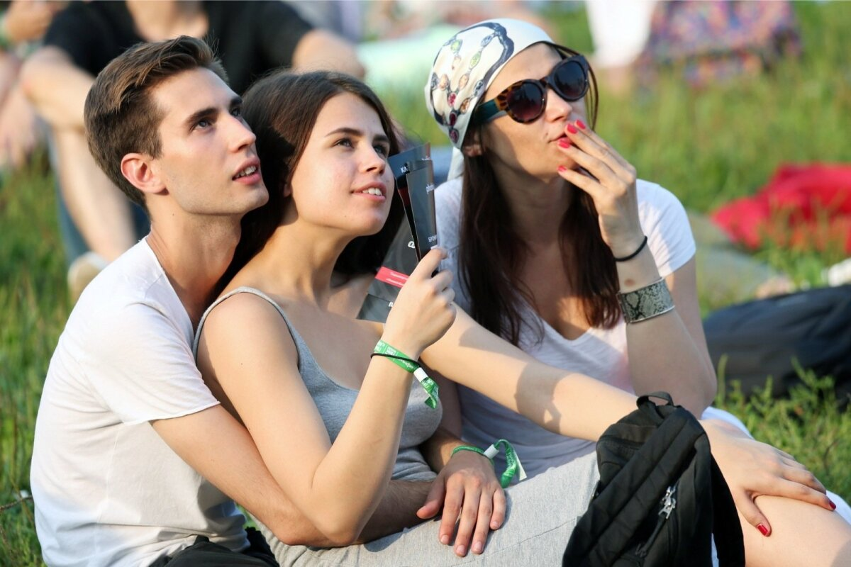 Afisha Picnic open-air music festival in Moscow
