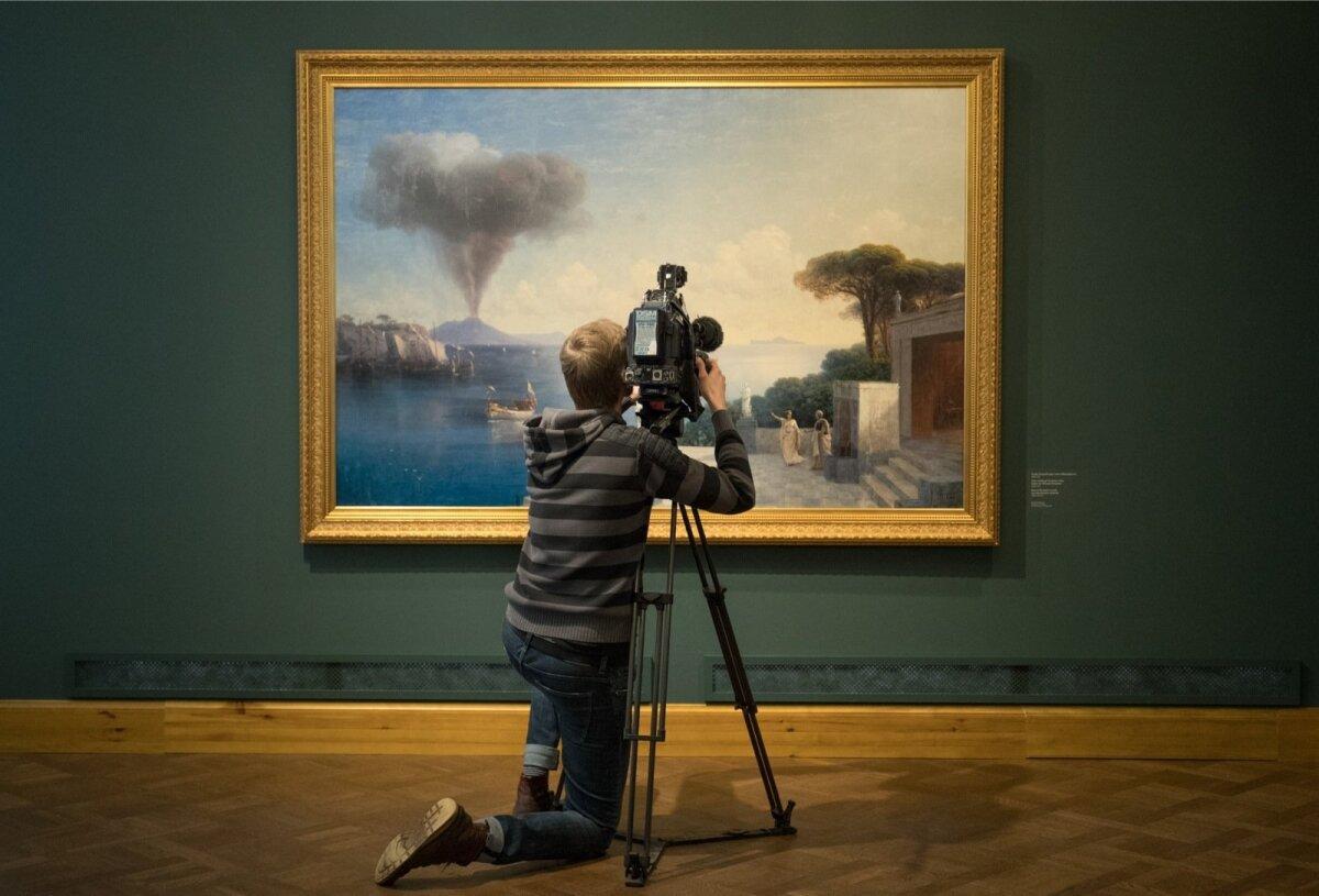 """Näitus """"Aivazovski. Ideaali otsimine"""" Kadrioru kunstimuuseumis"""