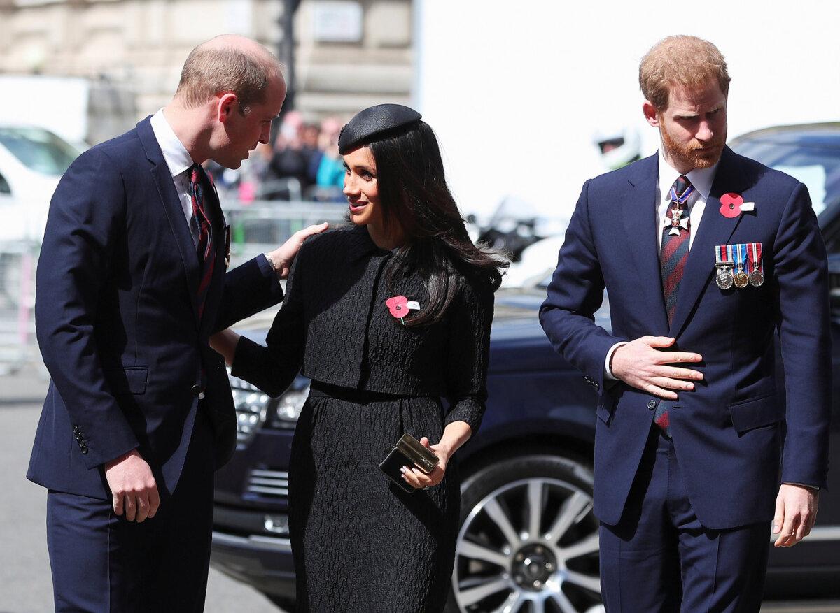 Prints William, Meghan Markle ja prints Harry