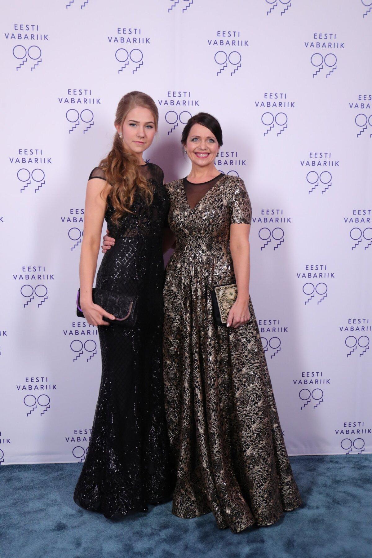 Riigikogu liige Anneli Ott ja tütar Anete Viitkin