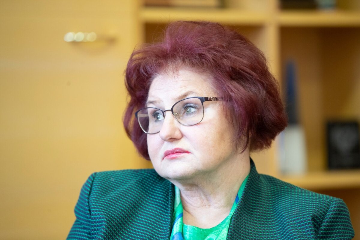 Людмила Янченко, мэр Кохтла-Ярве