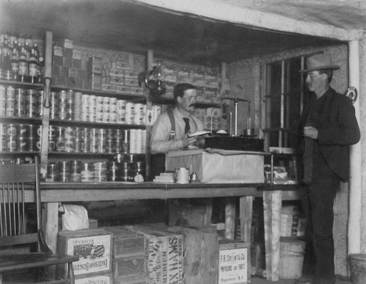 Взвешивание золотого порошка, 1905