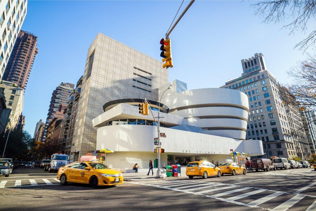 New York – Guggenheimi muuseum.