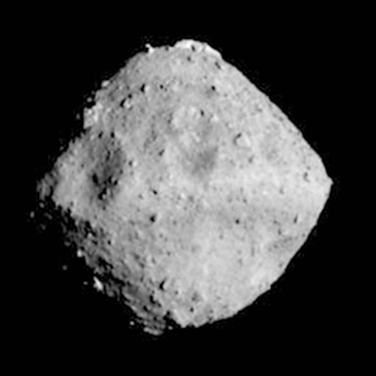 Asteroid Ryugu.