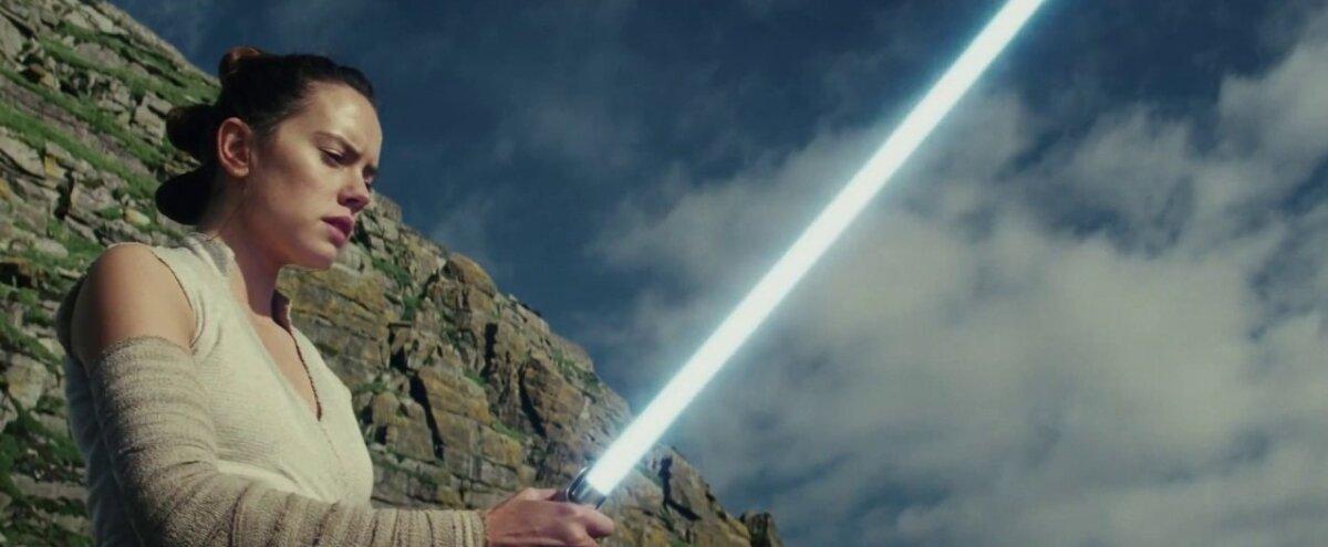 "Daisy Ridley filmis ""Star Wars: Viimased jedid"""