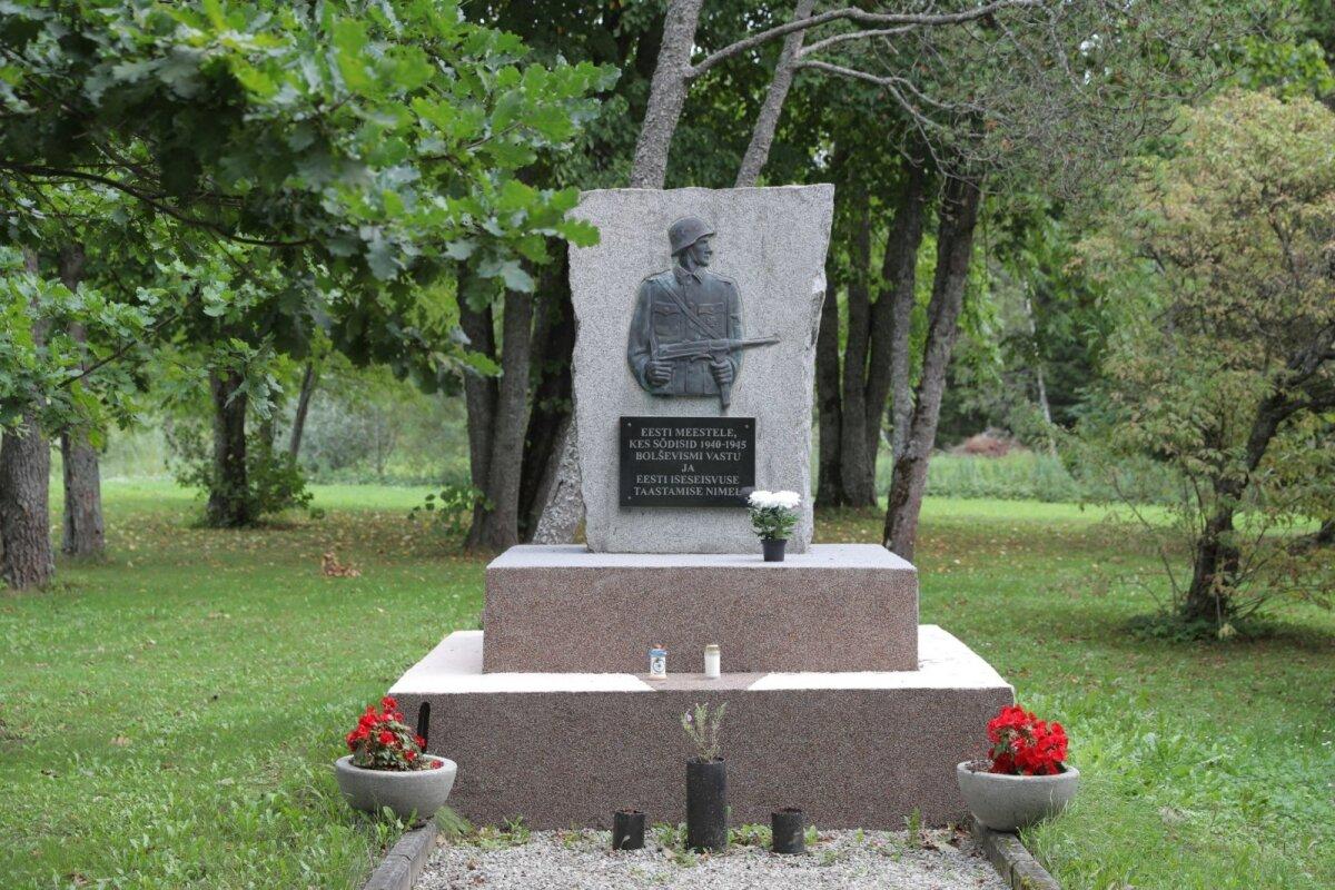 ПЕРЕСТАВЛЕН: Памятник борцам за свободу, прославившийся в мире как монумент SS, в настоящее время стоит в Лагеди под Таллинном в музее, посвященном борьбе за свободу. Фото: Тийт Блаат
