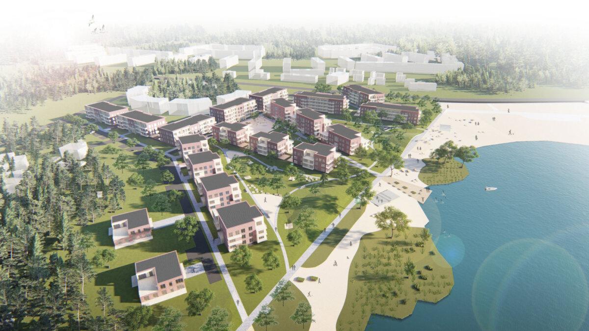 Harku järve rannaala planeering