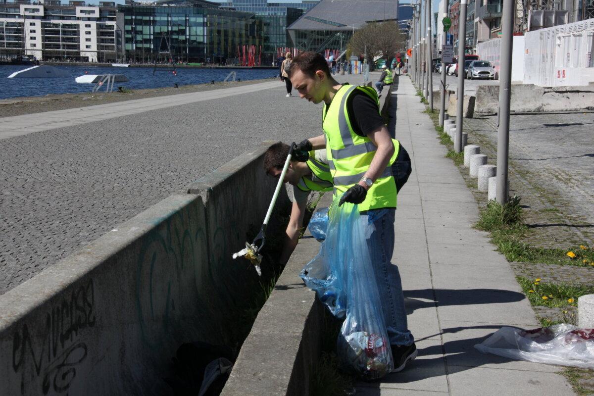 Koristustalgud Dublinis Iirimaal