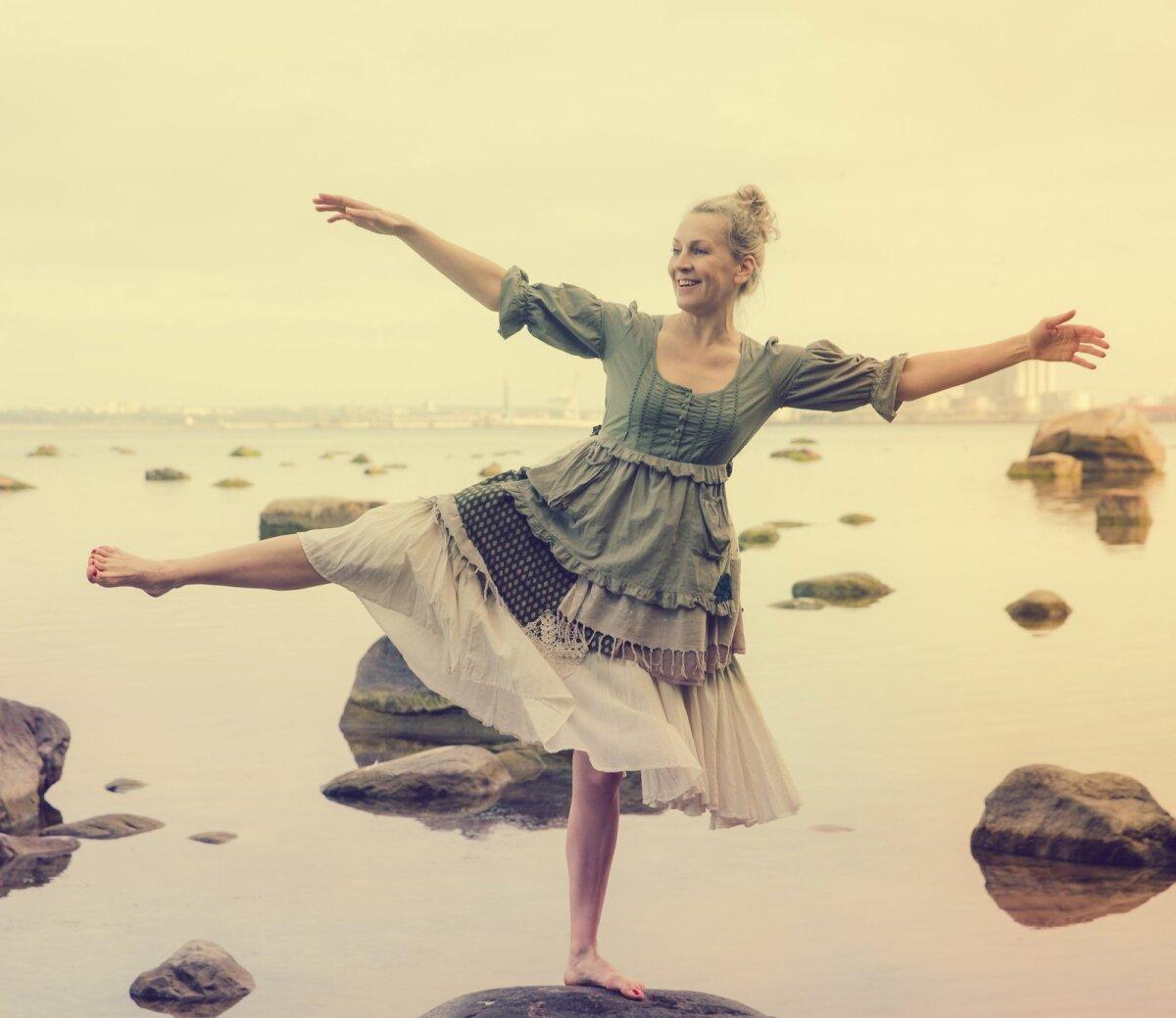 Vabastava tantsu õpetaja Merrit Helistve.