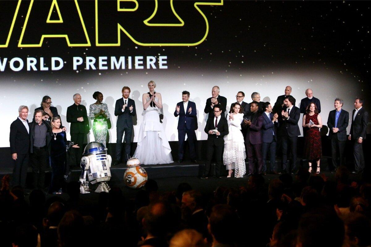 Star Warsi esilinastus Dolby teatris, LA's