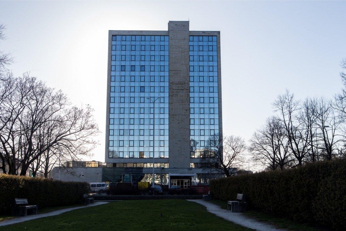 Rahandusministeeriumi hoone 24. aprillil 2015