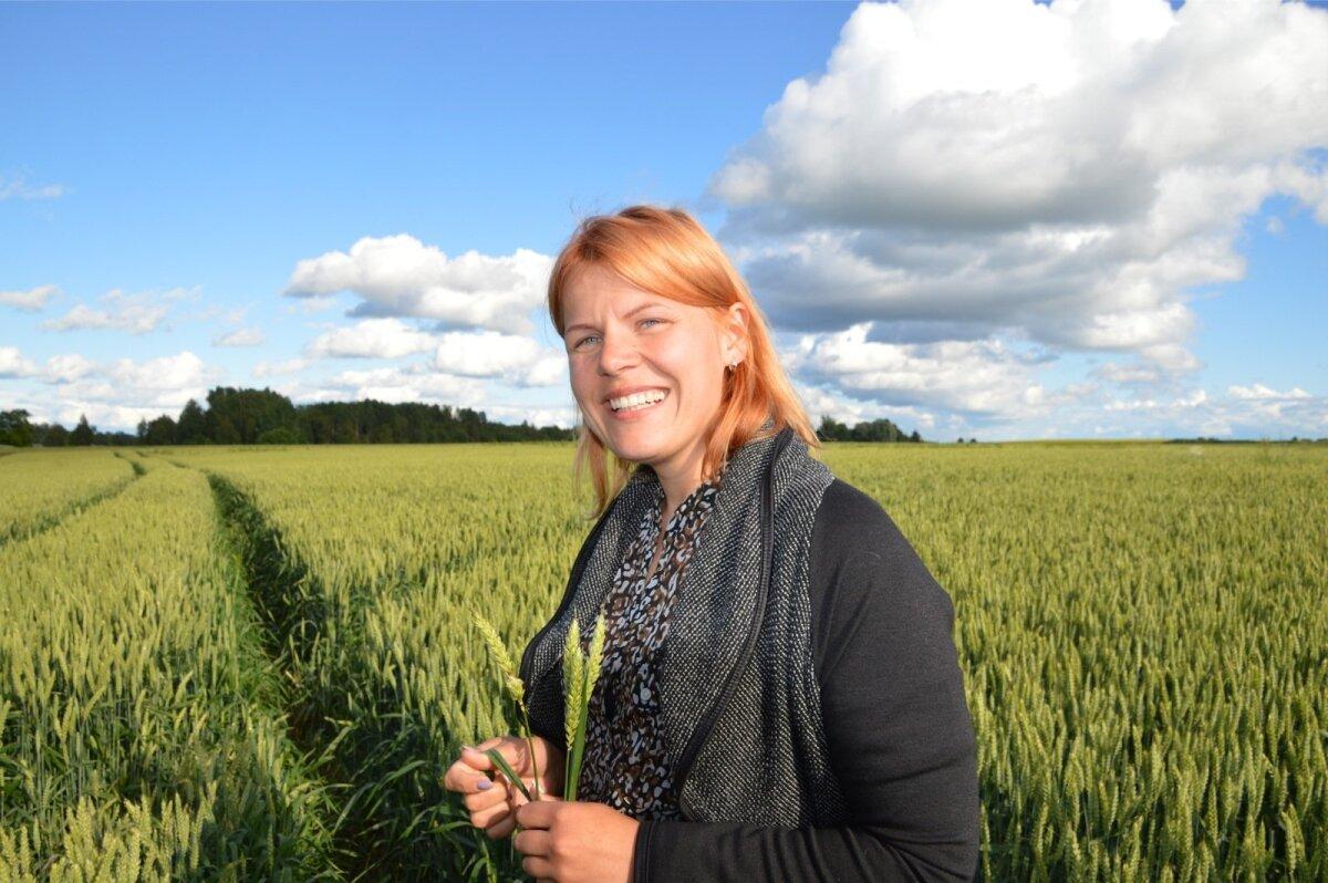 Võistleja Eva Tuusis (Sänna Põllumees OÜ)