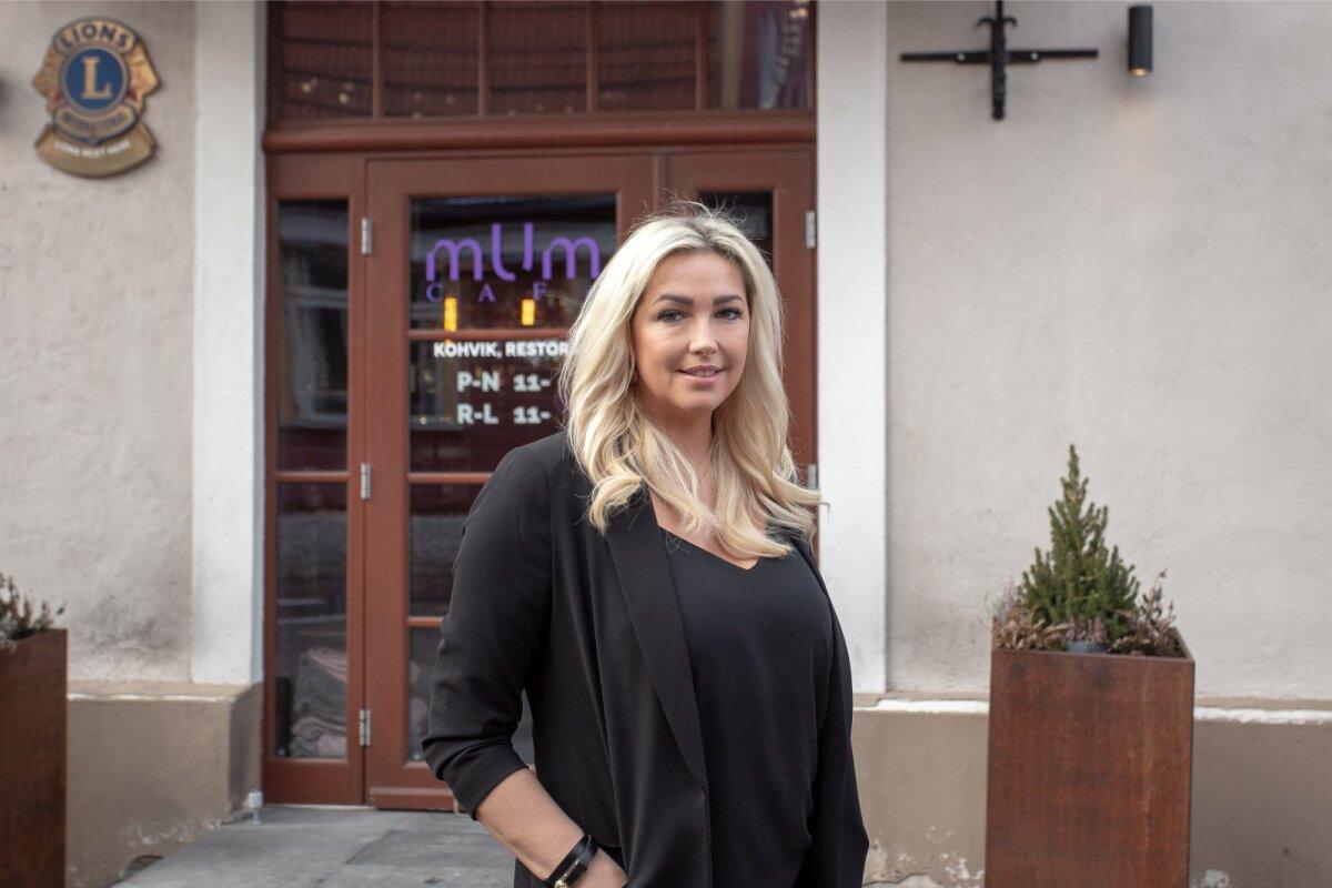 Pärnus Pühavaimu tänaval kuus aastat Mum Cafed pidanud Maarit Kõrgekivi oli väga üllatunud, et tema pakutud Oaasi suvekohviku idee saabki sel suvel reaalsuseks.