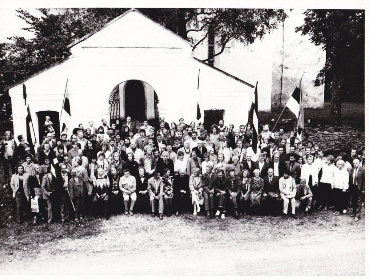 ERSP Asutav Kogu Pilistveres 20. augustil 1988