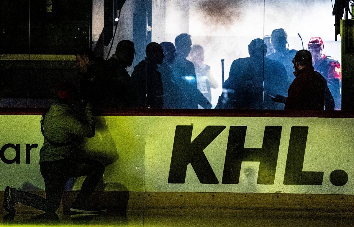 Helsingi Jokerite mäng Tallinnas Tondiraba jäähallis.