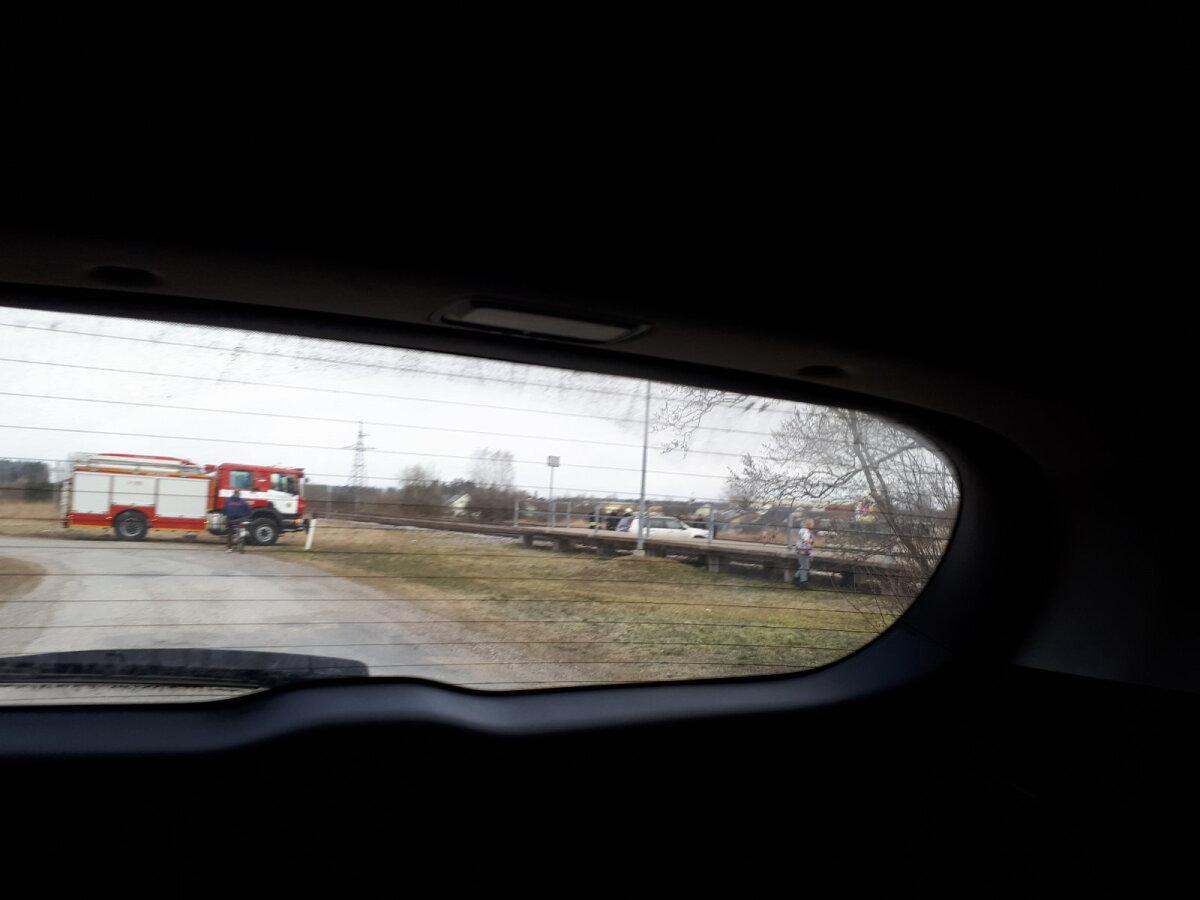 Nissan raudteel.