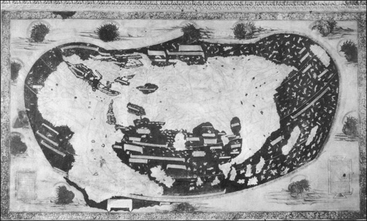 Martelluse kaart aastast 1490