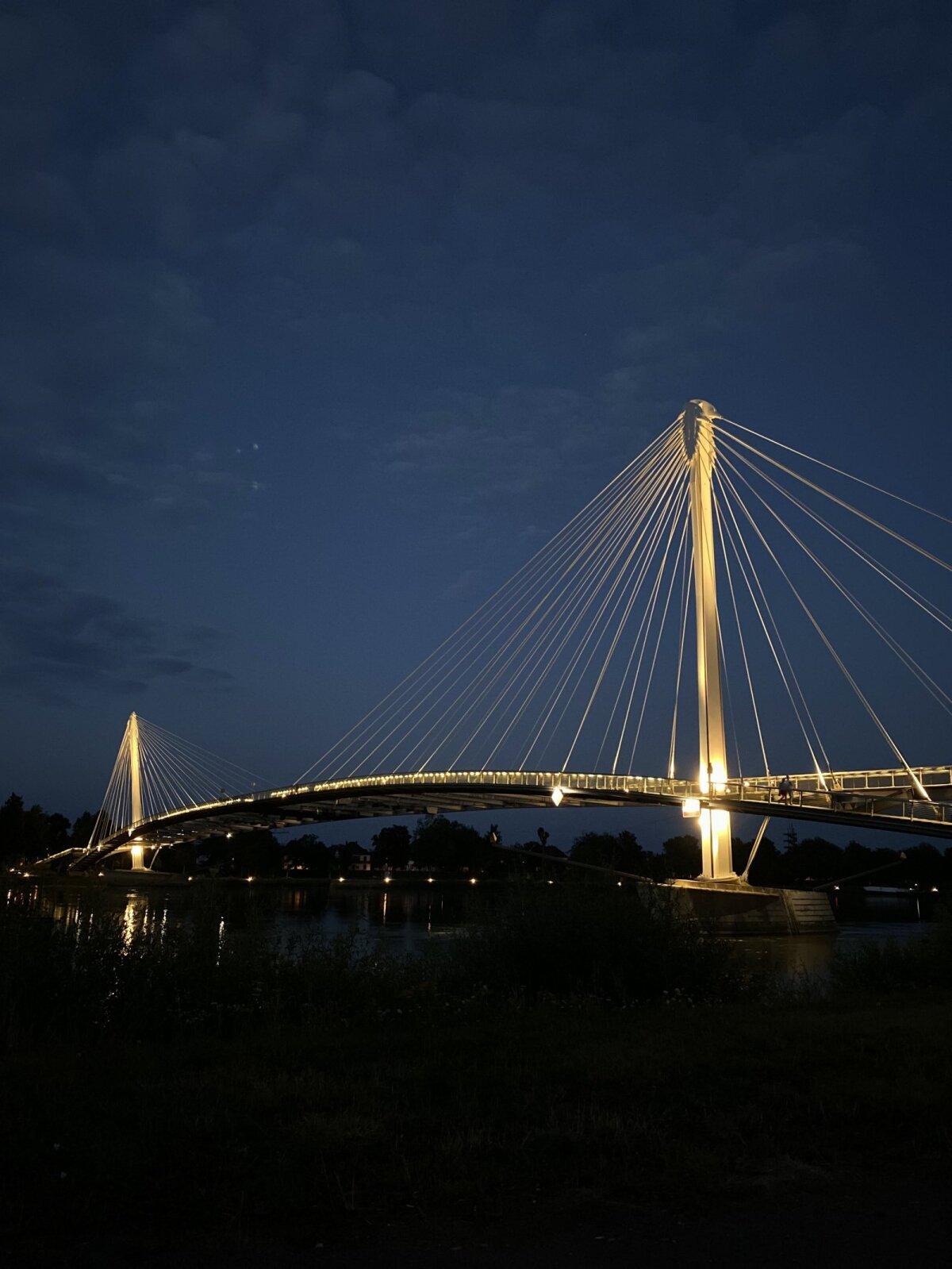 Мост из Франции в Германию