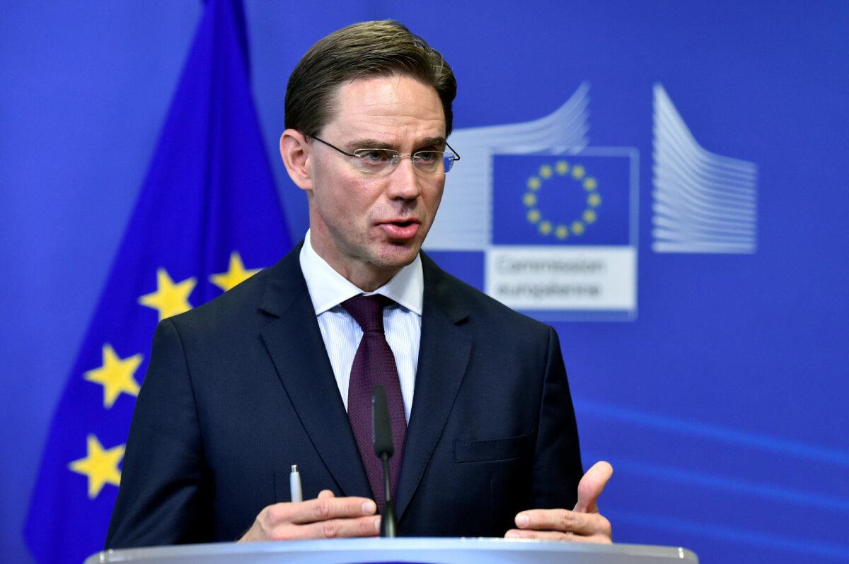 Jyrki Katainen aastal 2017, mil ta oli Euroopa Komisjoni asepresident.