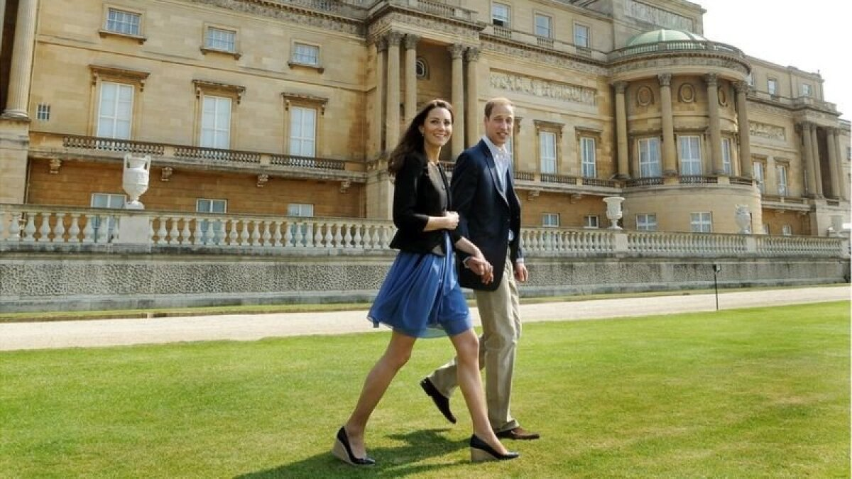 Уильям и Кейт на утро после свадьбы, 30 апреля 2011