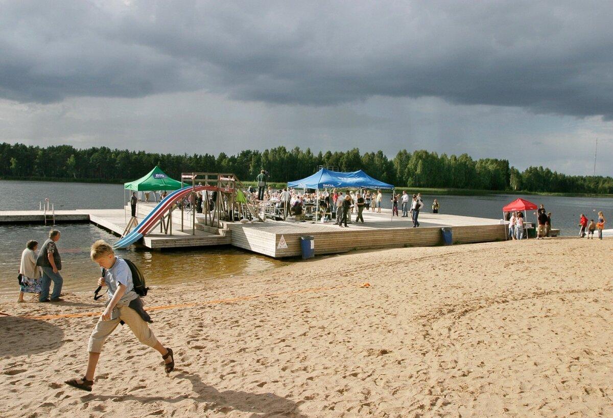 Verevi järve rand.
