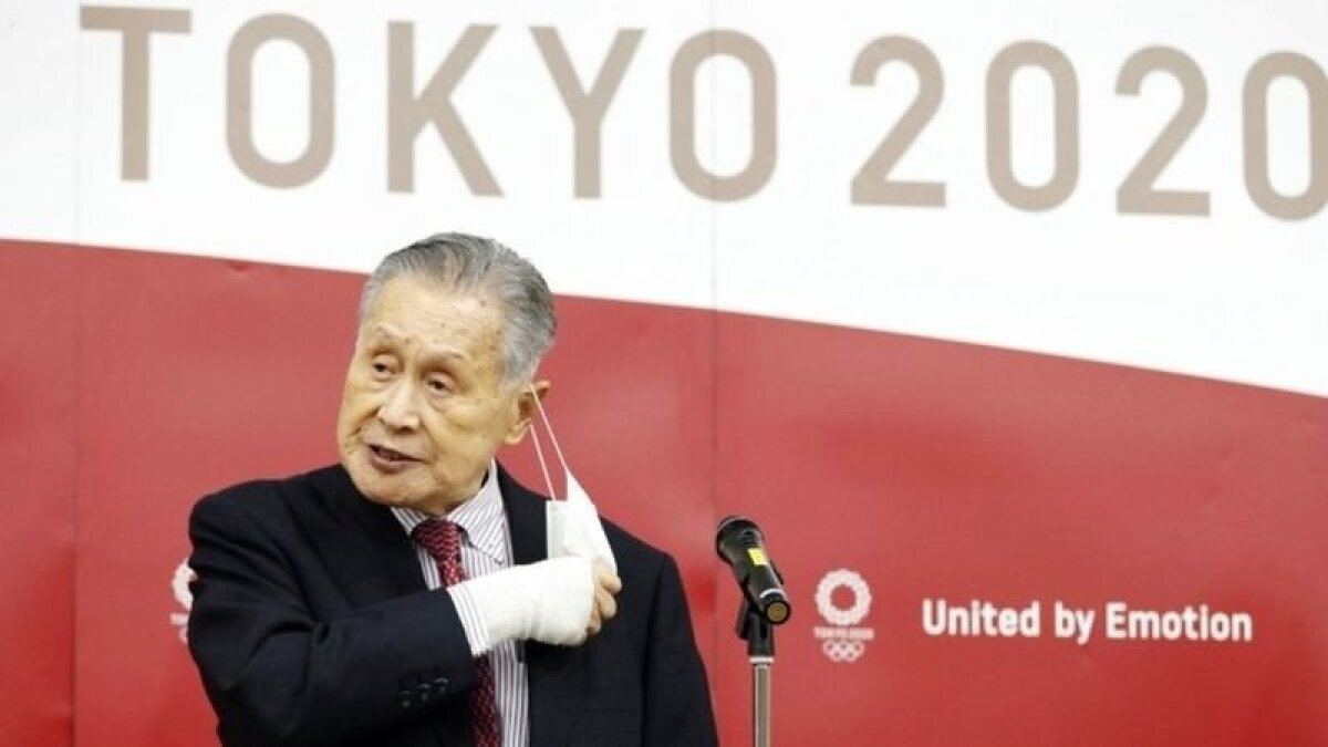 """Ёсиро Мори признал, что его высказываие было """"неподобающим"""" и несоответствующим олимпийскому духу"""