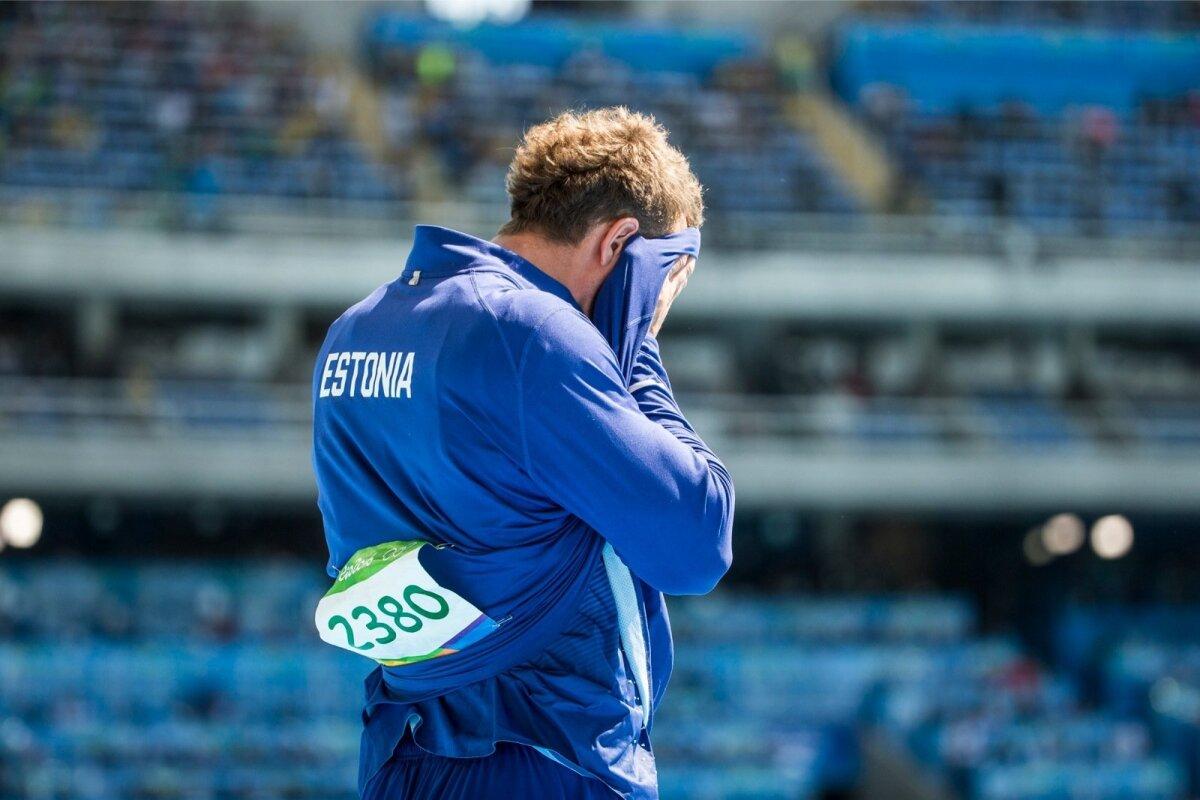 Martin Kupper Rio olümpial.