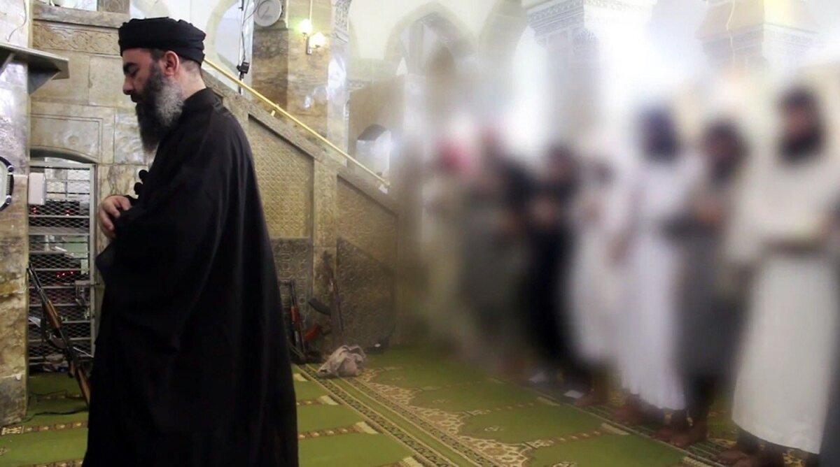 """Kaliif Ibrahim"" ehk Abu Bakr al-Baghdadi Mosulis."