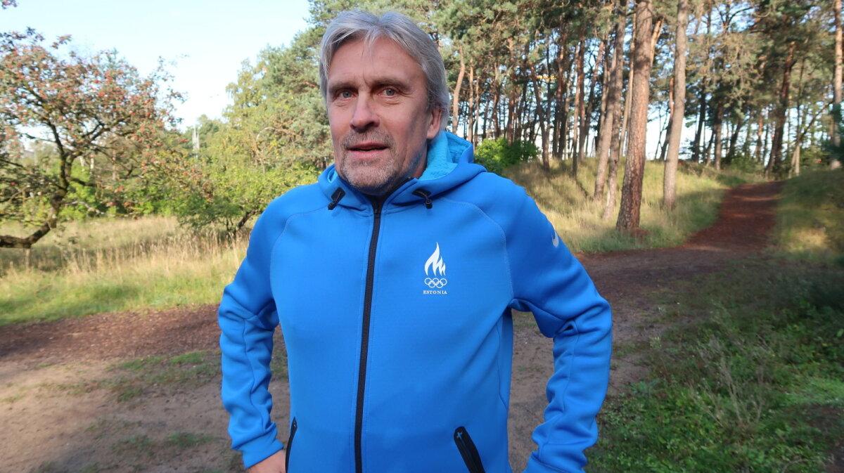 Spordinädala patroon Allar Levandi, 2019 Järve metsas