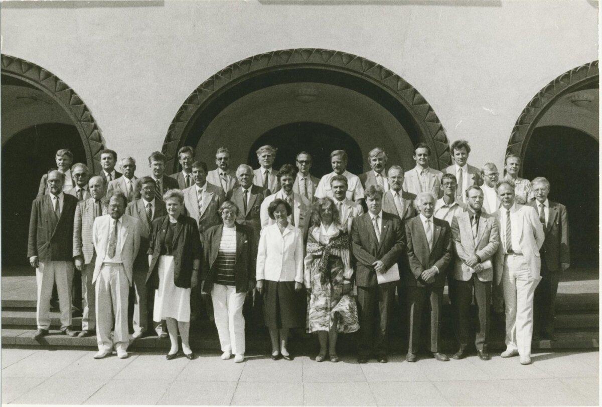 Põhiseaduslik assamblee 07.1992, Foto: Tiit Veermäe, ETA, EE Arhiiv