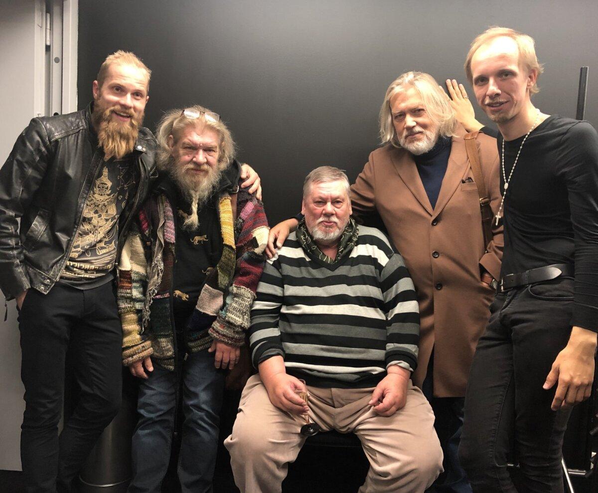 Kristo Viiding - Lembitu, Margus Mikomägi - Taaratark, meister Jaan Tooming, Tõnis Mägi - misjonär Peetrus ja Nero Urke - Kaupo.