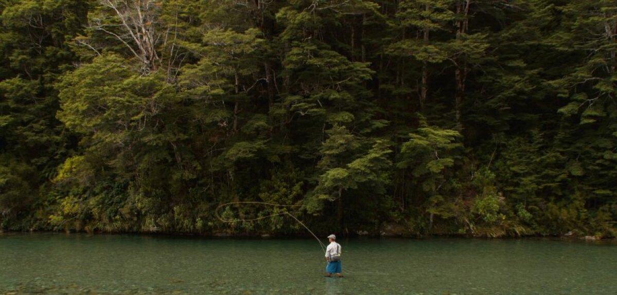 Kristallselged Uus-Meremaa jõed.
