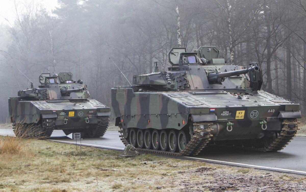 CV-90 jalaväe lahingumasinad