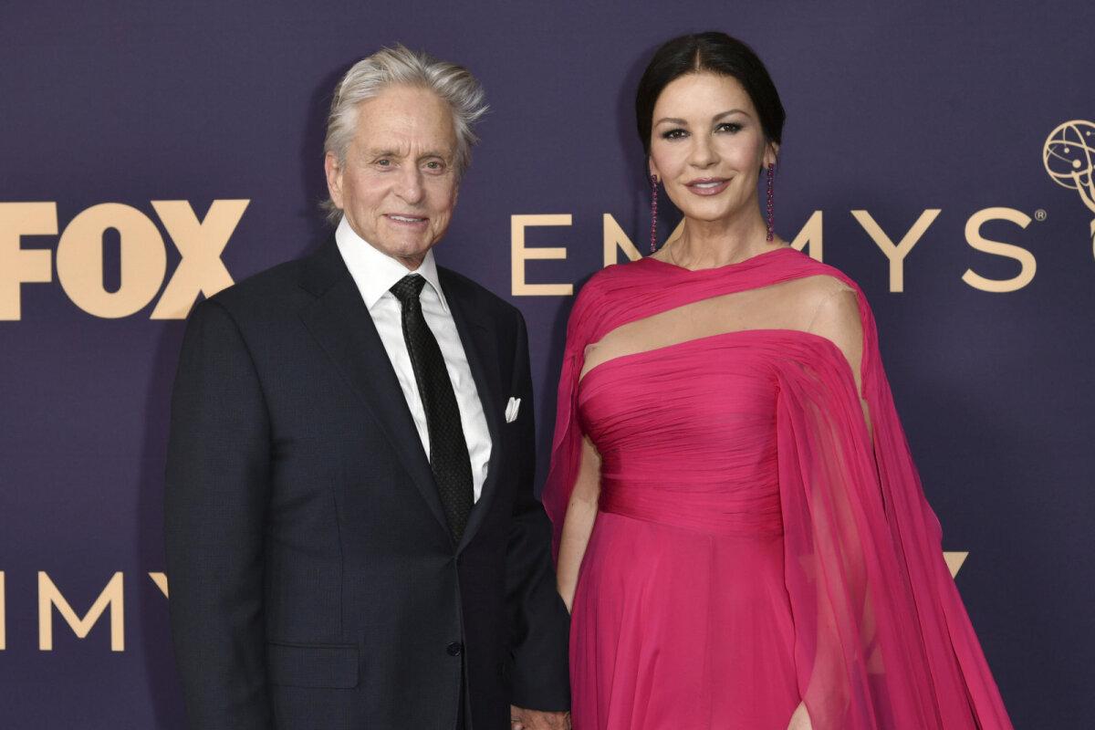Michael Douglas ja tema abikaasa Catherine Zeta-Jones