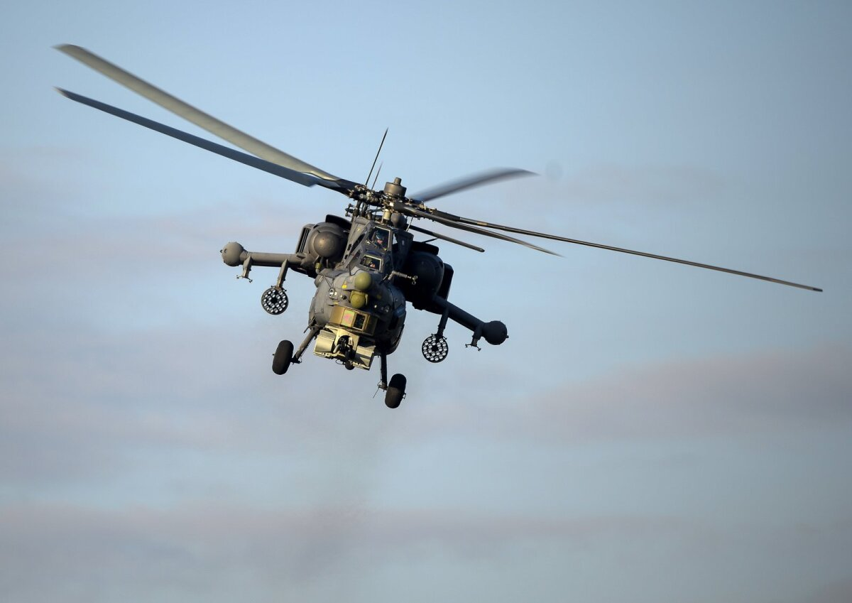 Ründekopter Mi-28N