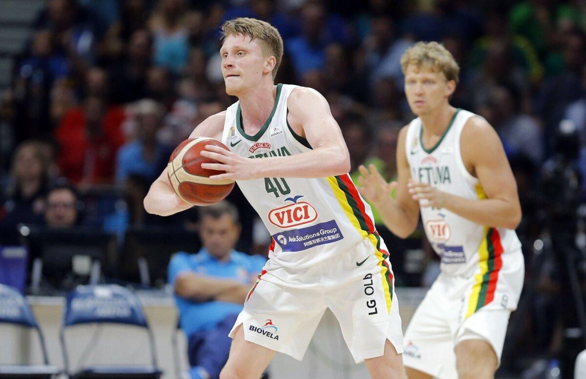 Marius Grigonis on Leedu koondise võtmemängija.