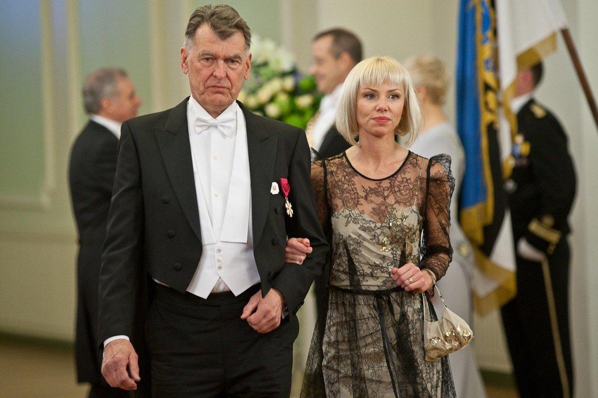 Jaan Manitski, Anneli Urge-Manitski, EV 93. aastapäeva presidendi vastuvõtt