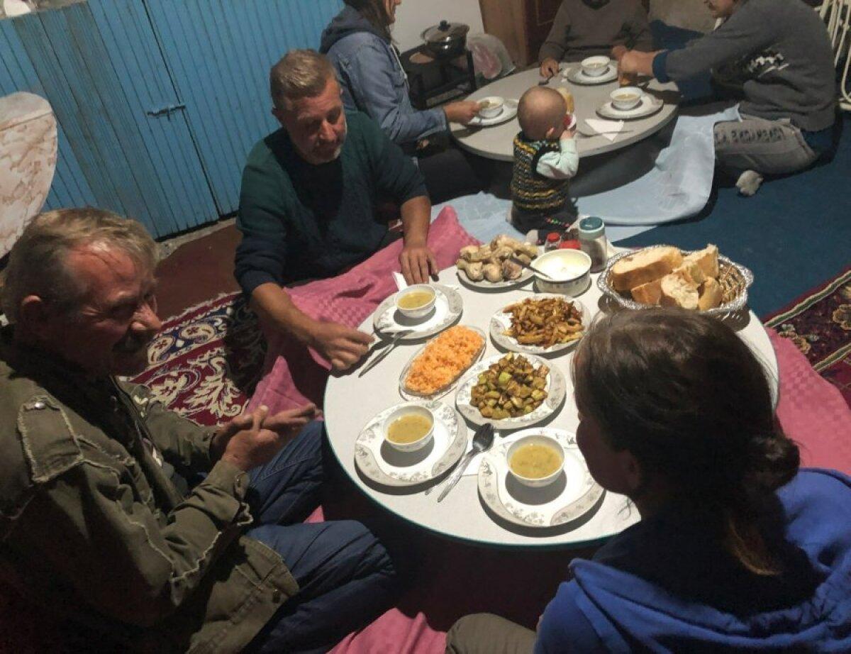 Ужин в гостях у эстонской семьи