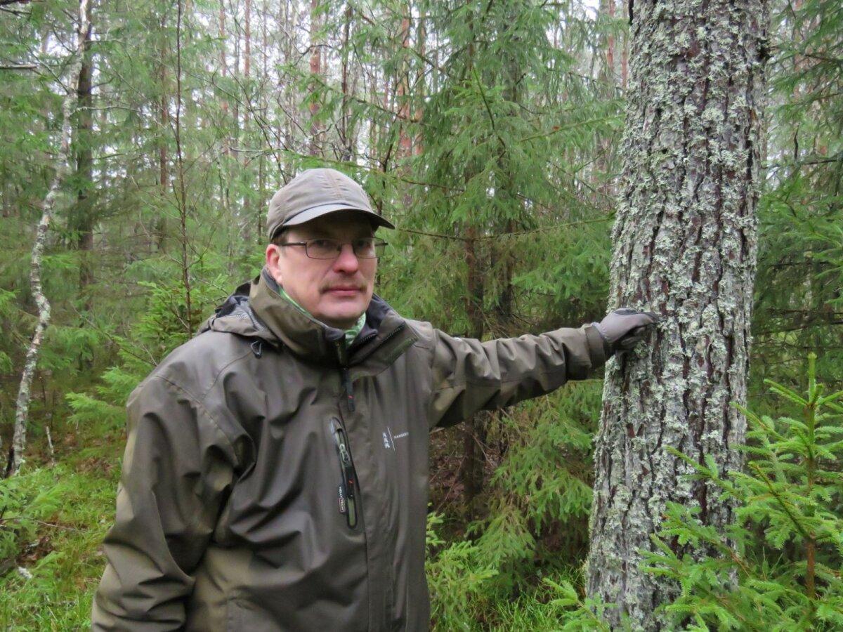 Keskkonnaagentuuri eluslooduse osakonna juhtivspetsialist Uudo Timm (foto: Valdo Jahilo / Keskkonnaagentuur)