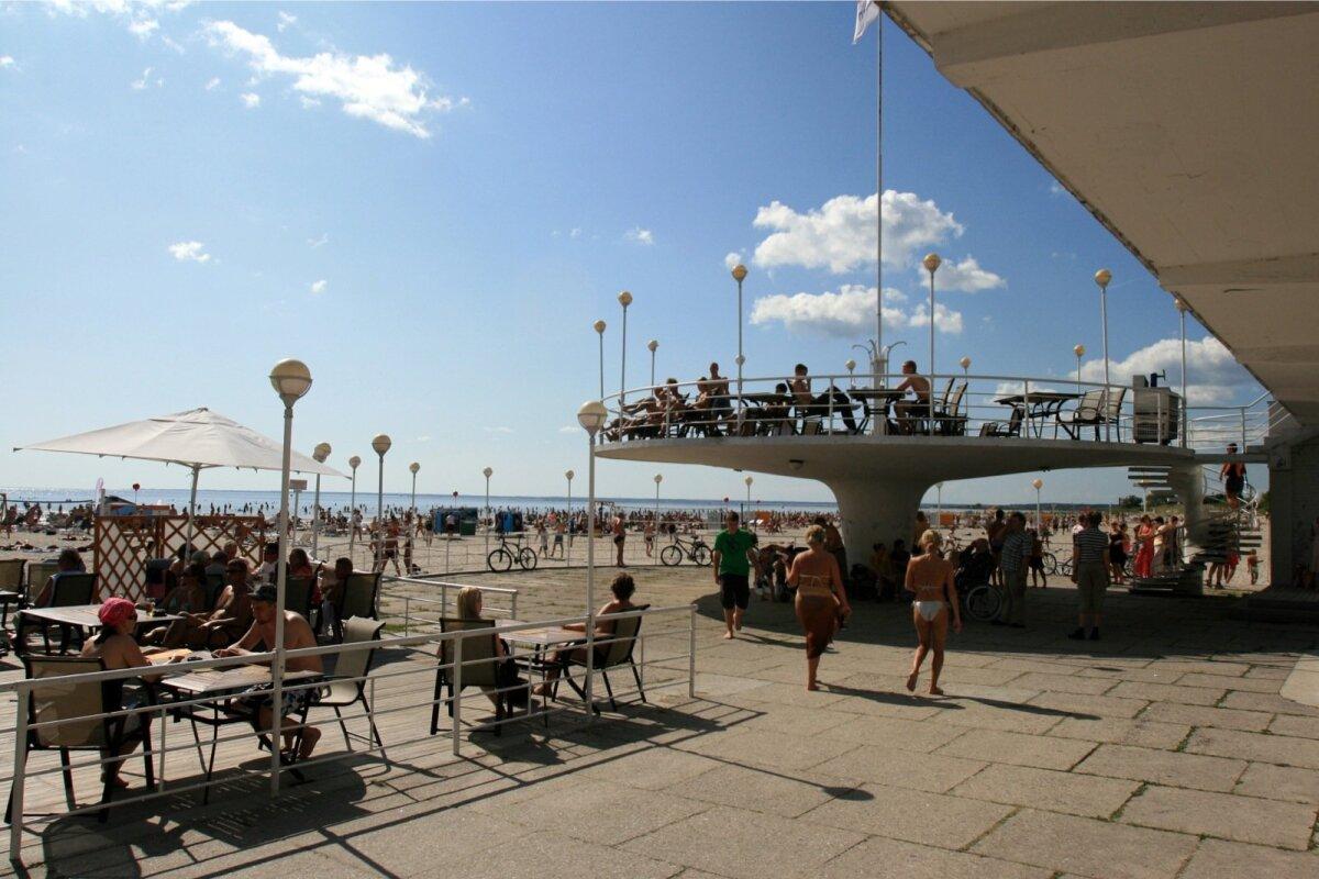 Pärnu rand on alati muutumatult populaarne.