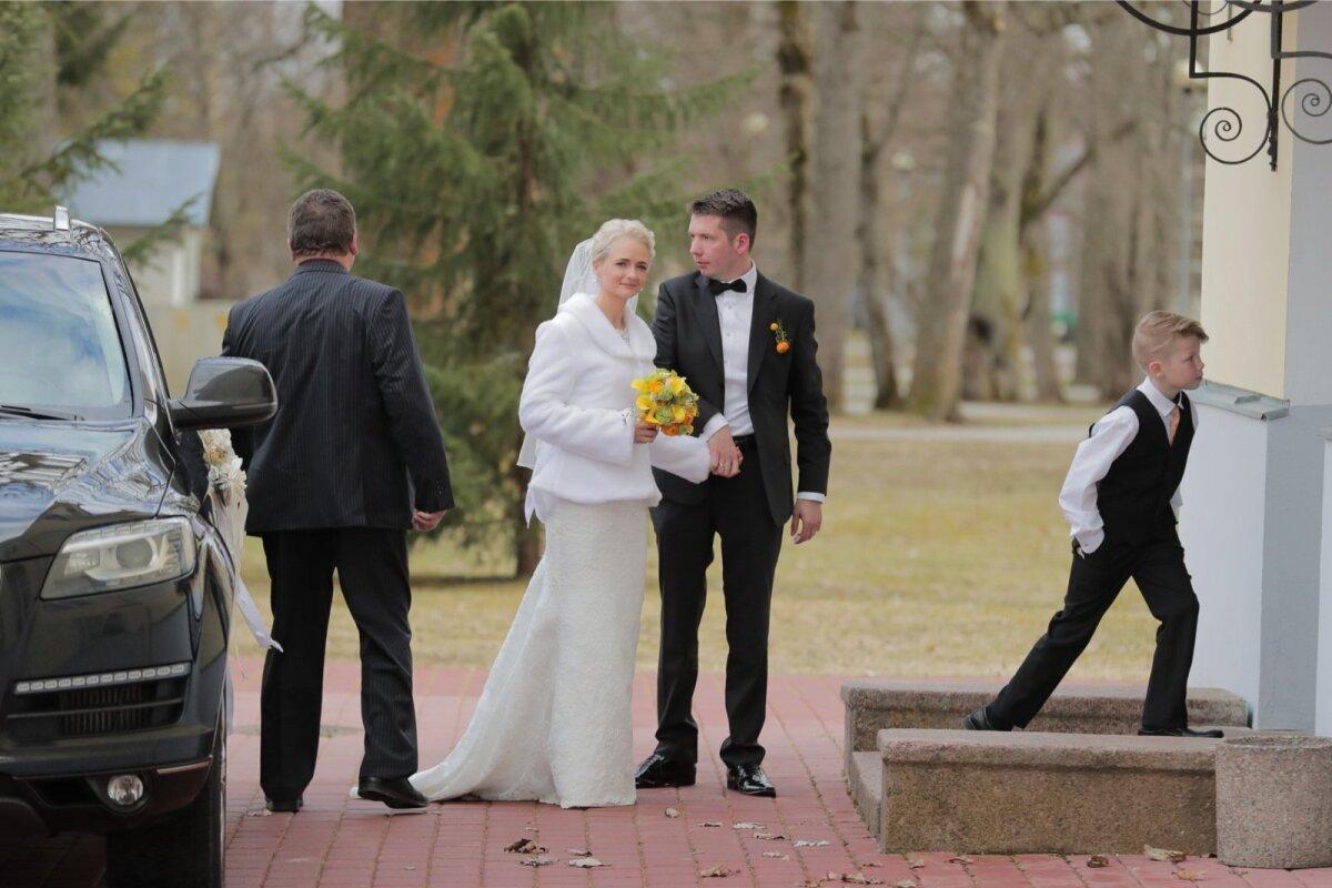 Siret Kotka ja Martin Repinski pulmad