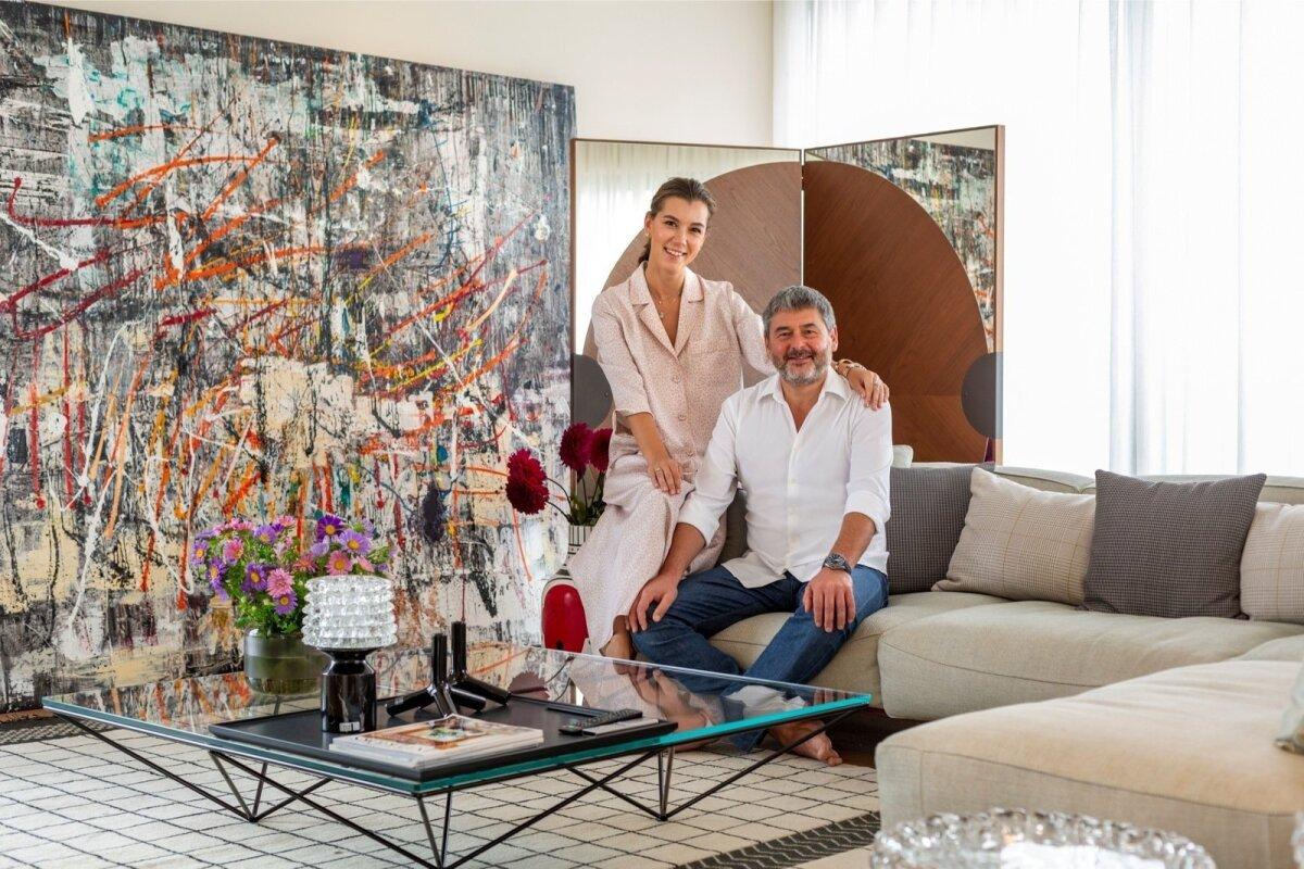 Armastajad ja partnerid ka äris. Anastassia juhib Olegile ja Marcel Vichmannile kuuluvat suurarendust Tbilisi Hills.