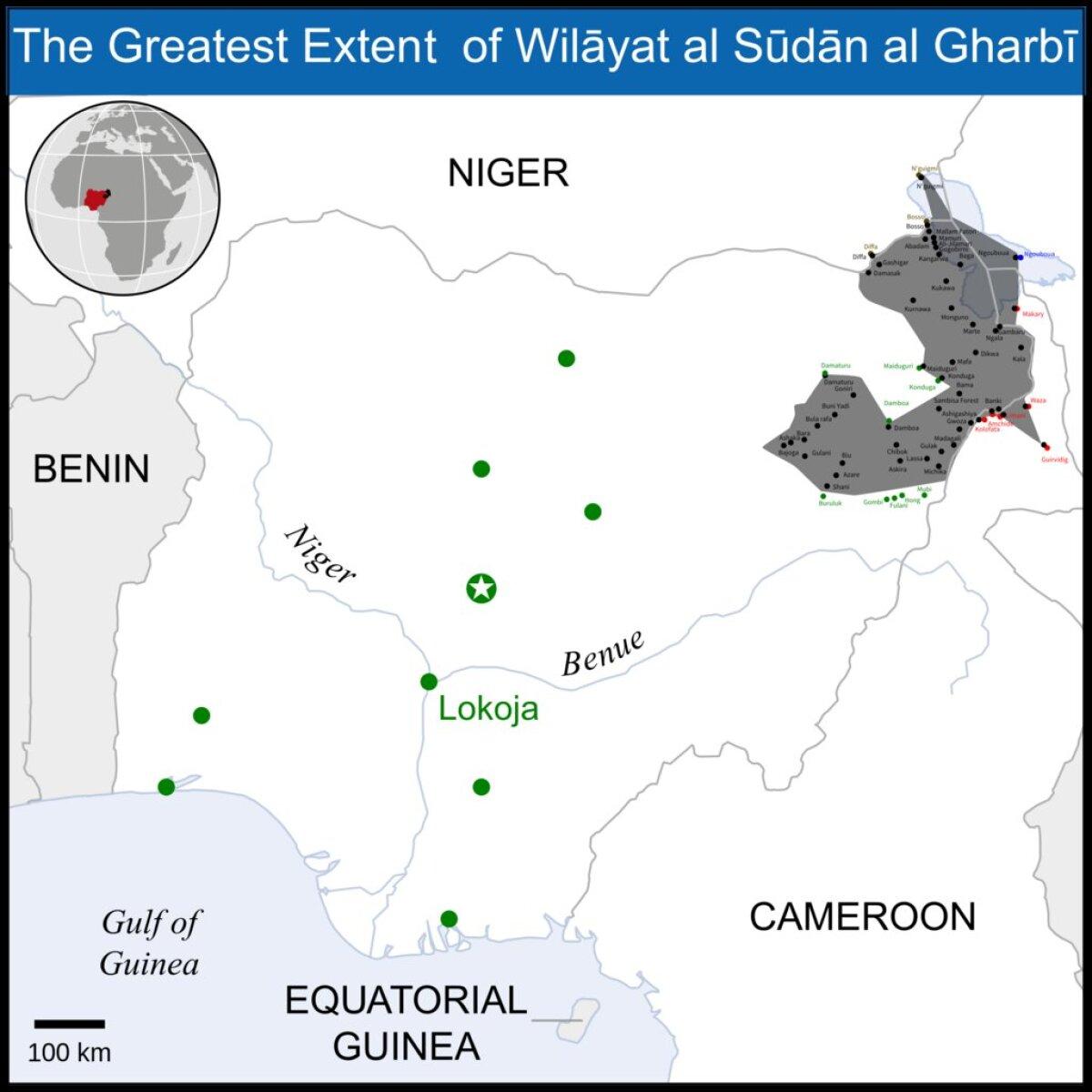 Lääne-Sudaani ehk Lääne-Aafrika vilajett Nigeerias 2015