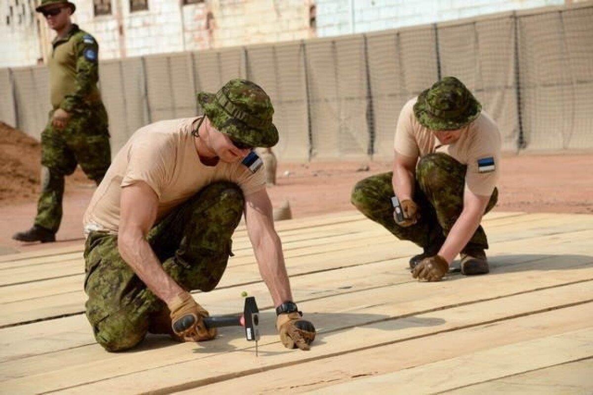 Eesti kaitseväelased KAV-is