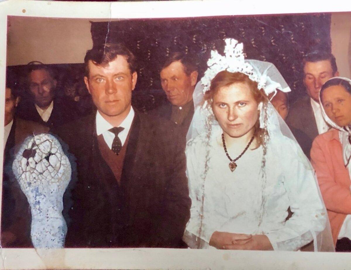 Свадьба Ольги и Фридерика, родителей Аугуста и Петро.